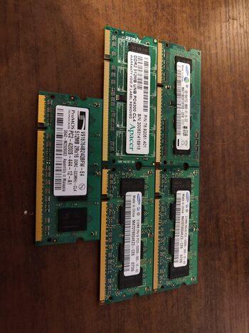 Loptopo 4x DDR2 + 1x DDR3 Ramai. Neištestuoti. for sale