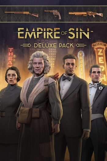 Empire of Sin Deluxe Pack (DLC) Steam Key GLOBAL