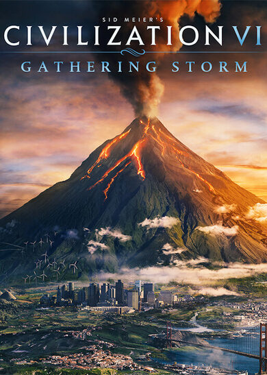 Sid Meier's Civilization VI: Gathering Storm (DLC) Steam Key EUROPE