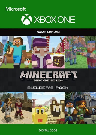 Minecraft: Builder's Pack (DLC) (Xbox One) Xbox One Key GLOBAL