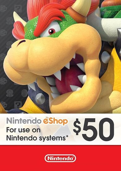 Nintendo eShop Card 50 USD Key NORTH AMERICA