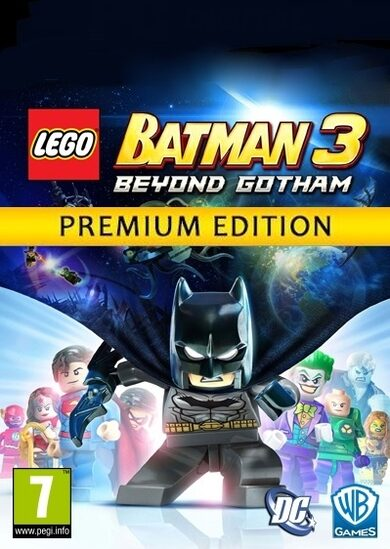 LEGO: Batman 3 - Beyond Gotham (Premium Edition) Steam Key GLOBAL