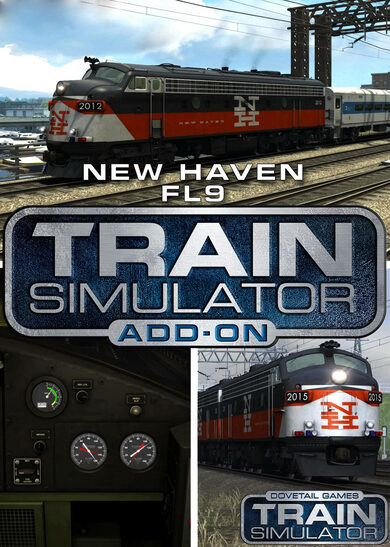Train Simulator - New Haven FL9 Loco Add-On (DLC) Steam Key EUROPE