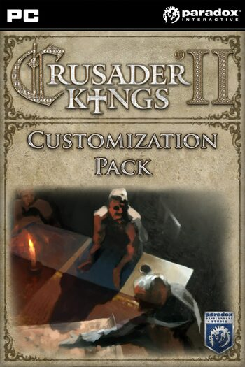 Crusader Kings II - Customization Pack (DLC) Steam Key GLOBAL