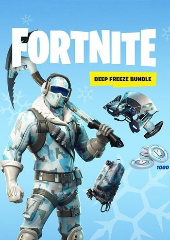 Fortnite: Deep Freeze Bundle + 1000 V-Bucks Epic Games Key GLOBAL