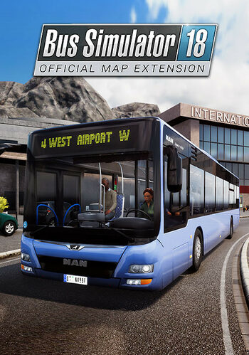 Bus Simulator 18 - Official Map Extension (DLC) Steam Key GLOBAL
