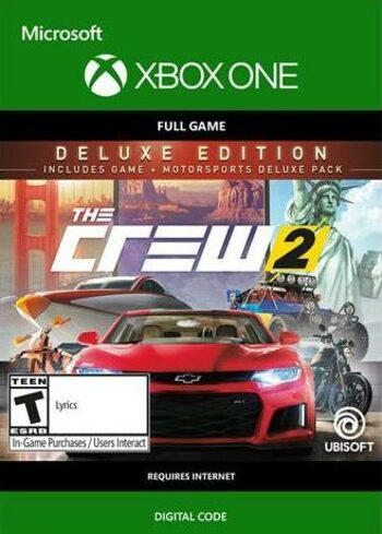 The Crew 2 (Deluxe Edition) (Xbox One) Xbox Live Key UNITED STATES