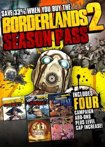 Borderlands 2 - Season Pass (DLC) Steam Key GLOBAL