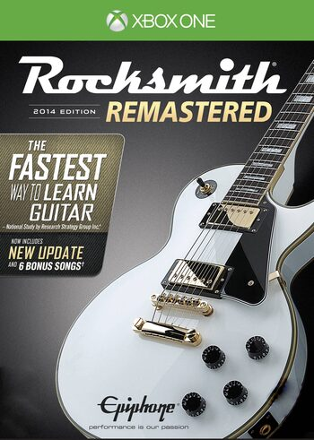 Rocksmith 2014 Remastered Edition (Xbox One) Xbox Live Key EUROPE