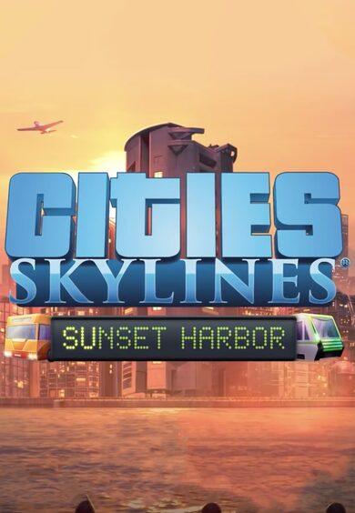 Cities: Skylines - Sunset Harbor (DLC) Steam Key GLOBAL