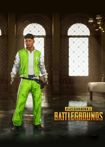 PUBG Nvidia TrackSuit Set Key GLOBAL