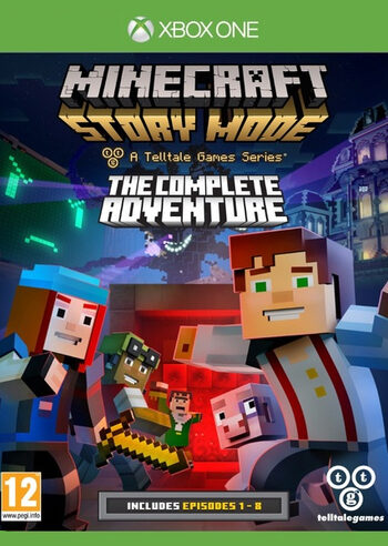 Minecraft: Story Mode - The Complete Adventure (Episodes 1-8) (Xbox One) Xbox Live Key GLOBAL