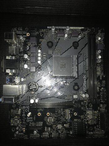ASRock B550M-HDV AMD B550 Micro ATX DDR4 AM4 1 x PCI-E x16 Slots Motherboard
