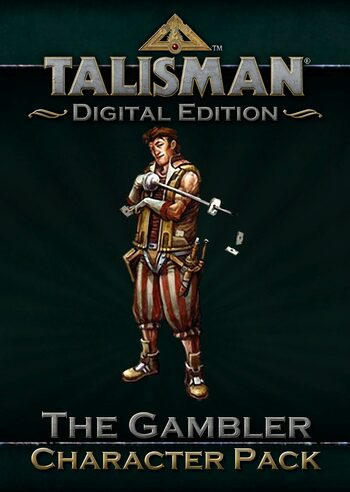 Talisman - Character Pack #6 - Gambler (DLC) Steam Key GLOBAL