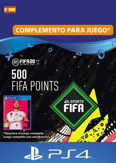 FIFA 20 - 500 FUT Points (PS4) PSN Clave España