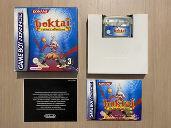 Boktai: The Sun Is in Your Hand Game Boy Advance
