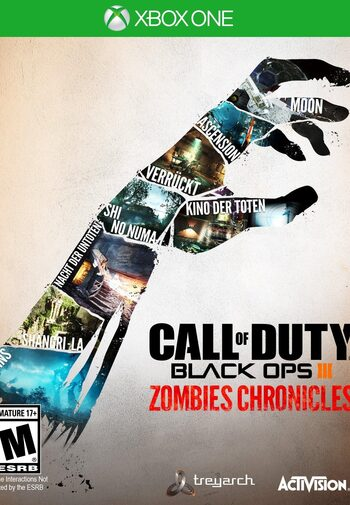 Call of Duty: Black Ops III - Zombies Chronicles (DLC) XBOX LIVE Key ARGENTINA