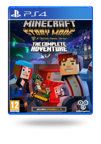 Minecraft: Story Mode The Complete Adventure PlayStation 4