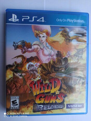 Wild Guns Reloaded PlayStation 4