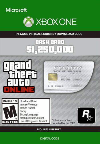 GTA Online: Great White Shark Cash Card (Xbox One) Key GLOBAL