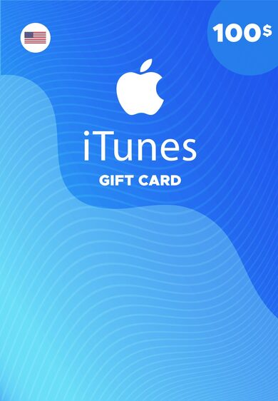 Apple iTunes Gift Card 100 USD iTunes (USA) ESTADOS UNIDOS ¡MÁS BARATO!