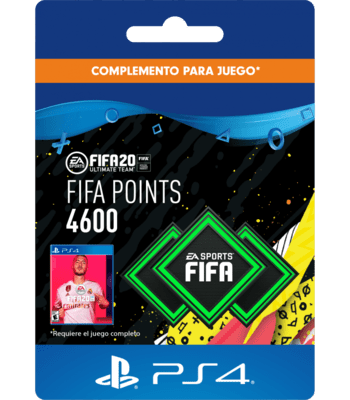 FIFA 20 - 4600 FUT Points (PS4) PSN Key CHILE