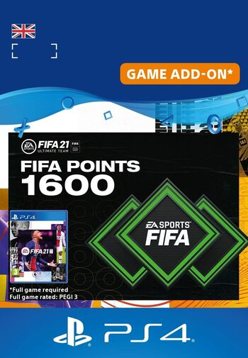 FIFA 21 - 1600 FUT Points (PS4) PSN Key UNITED KINGDOM