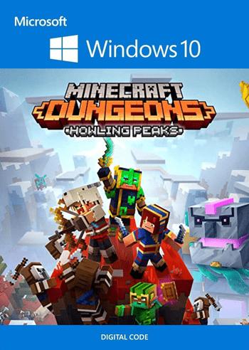 Minecraft Dungeons: Howling Peaks (DLC)  - Windows 10 Store Key EUROPE