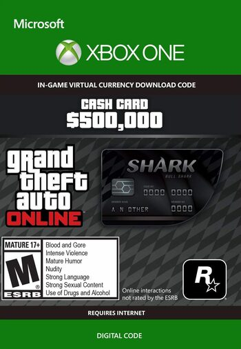 Grand Theft Auto Online: Bull Shark Cash Card (Xbox One) Xbox Live Key GLOBAL