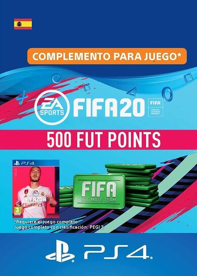 FIFA 20 - 500 FUT Points (PS4) PSN Key SPAIN