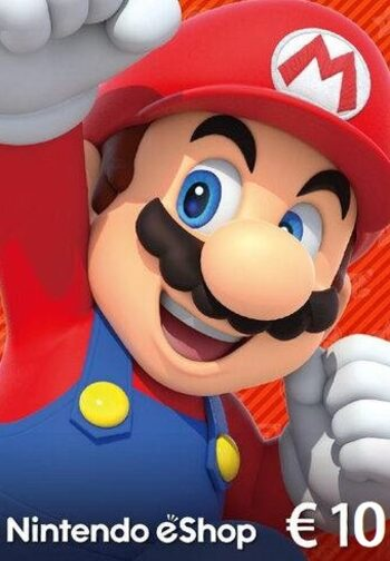 Nintendo eShop Card 10 EUR Key EUROPE