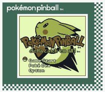 Pokémon Pinball Game Boy Color for sale