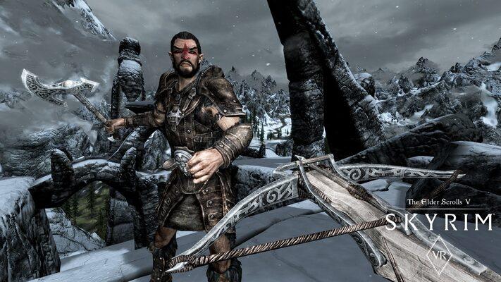 The Elder Scrolls 5: Skyrim Poster
