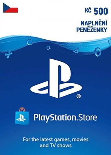 PlayStation Network Card 500 CZK (CZ) PSN Key CZECH REPUBLIC