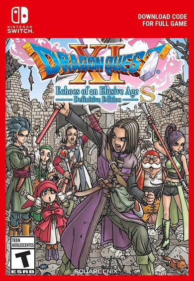 DRAGON QUEST XI S: Echoes of an Elusive Age - Definitive Edition (Nintendo Switch) eShop Key EUROPE