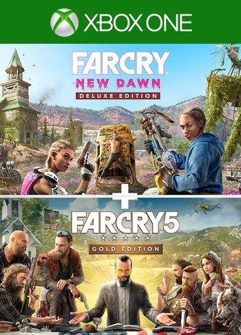 Far Cry 5 Gold Edition + Far Cry  New Dawn Deluxe Edition Bundle (Xbox One) Xbox Live Key UNITED STATES