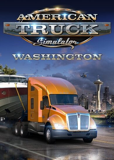 American Truck Simulator - Washington (DLC) Steam Key GLOBAL