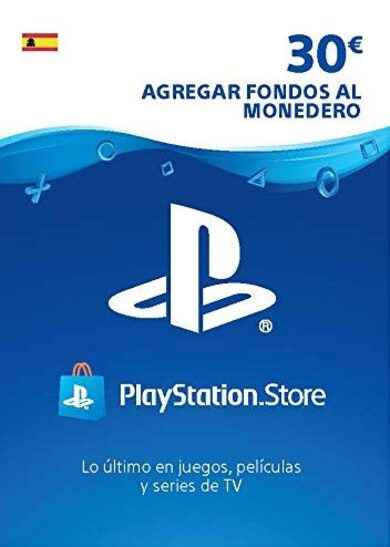 PlayStation Network Card 30 EUR (ES) PSN Key SPAIN