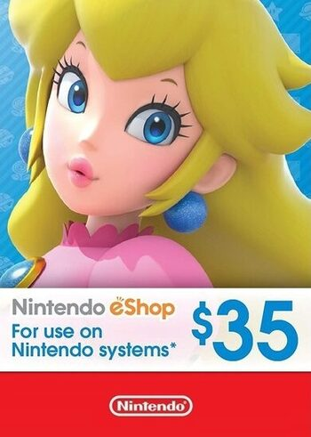 Nintendo eShop Card 35 USD Key UNITED STATES