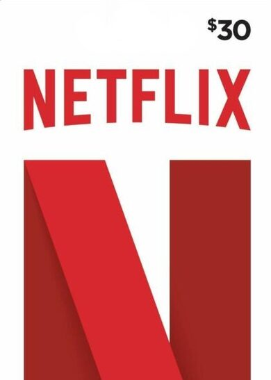 Netflix Gift Card 30 USD Key UNITED STATES
