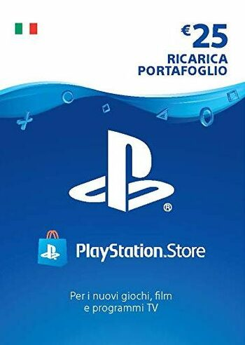 PlayStation Network Card 25 EUR (IT) PSN Key ITALY