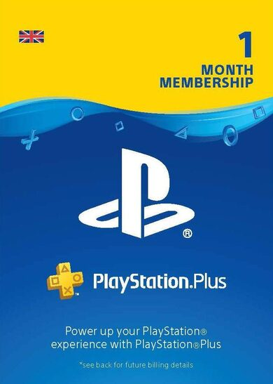 PlayStation Plus Card 1 Month (UK) PSN Key UNITED KINGDOM