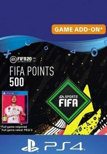 FIFA 20 - 500 FUT Points (PS4) PSN Key GERMANY