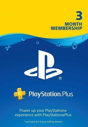 PlayStation Plus Card 90 Days (HR) PSN Key CROATIA