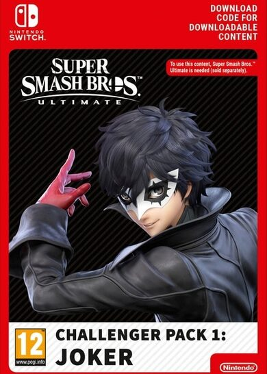 Super Smash Bros. Ultimate - Challenger Pack 1: Joker (DLC) (Nintendo Switch) eShop Key EUROPE