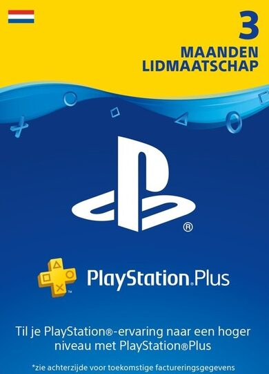 PlayStation Plus Card 90 Days (NL) PSN Key NETHERLANDS
