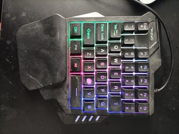 clavier gaming une main