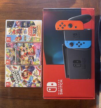 Nintendo Switch V2 + 3 jeux