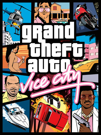 Grand Theft Auto: Vice City Rockstar Games Launcher Key GLOBAL