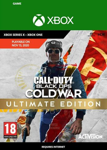 Call of Duty: Black Ops Cold War - Ultimate Edition (Xbox One) Xbox Live Klucz GLOBAL